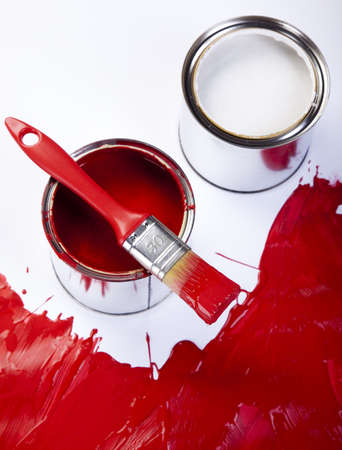 Paint and cans Stock Photo - 9950847