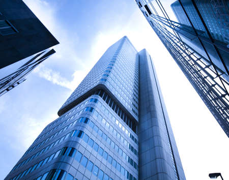 Corporate buildings in perspective Stock Photo - 9949699