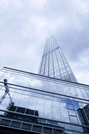 Szkło drapaczy chmur, business center