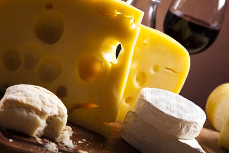 Still-life with cheese photo