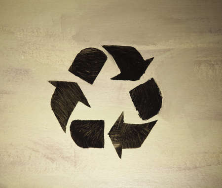 Recycle symbol, ecology photo