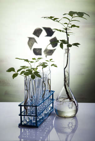 agricultural engineering: Eco laboratory  Stock Photo