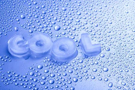 cubos de hielo: Fresco