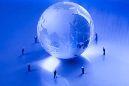 Success in modern business, team work Stock Photo - 10830874