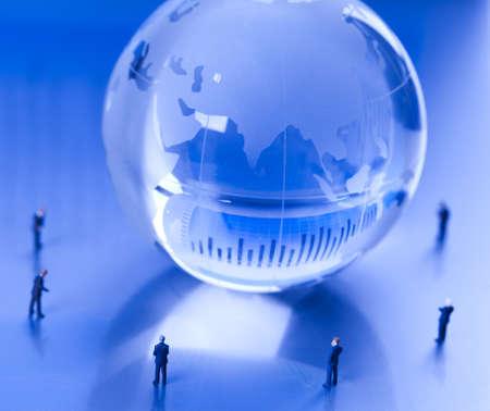 Success in modern business, team work Stock Photo - 10830871