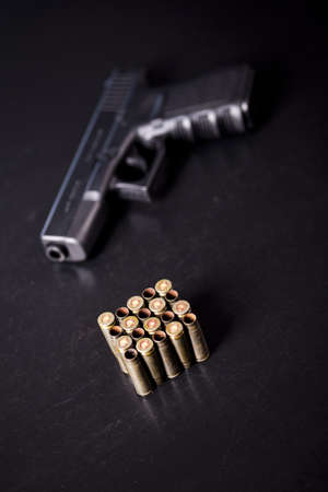 semi automatic: Automatic handgun