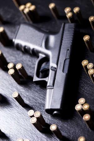 Automatic handgun Stock Photo - 10873474
