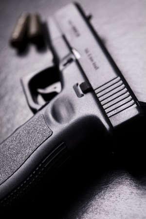 marksmanship: Handgun, Pistol Stock Photo