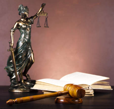 Statue of lady justice Stock Photo - 10830469