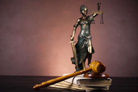 God of law Stock Photo - 10830475