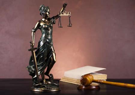 Lady der Gerechtigkeit, Law Standard-Bild - 10873465