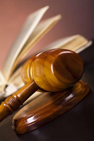 derecho penal: Concepto de derecho y la justicia Foto de archivo
