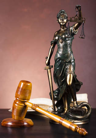 judicature: Justice concept  Stock Photo