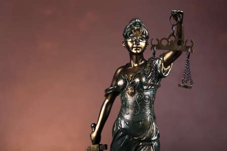 judicature: Scales of Justice and Law