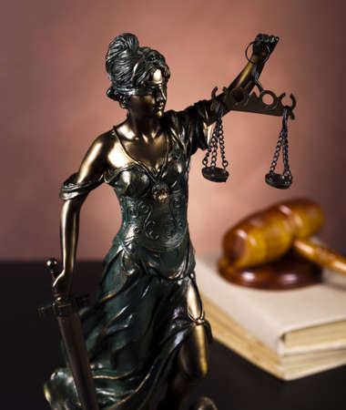 Lady of justice, Law