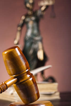 judicature: Lady of justice, Law Stock Photo
