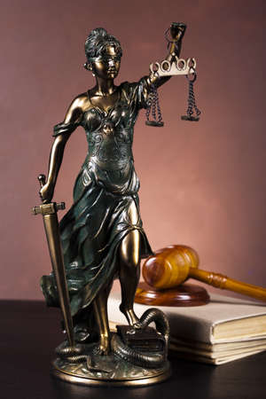 blind justice: Justice statue, Law