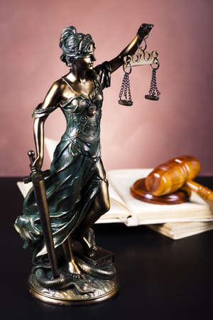 high scale: Justice statue, Law
