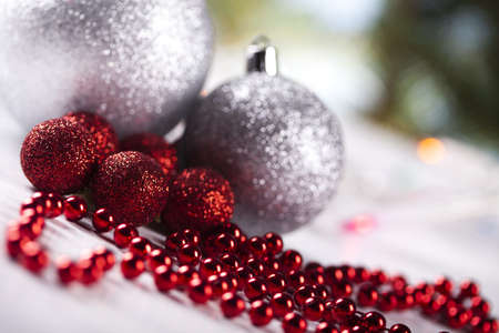 christmas day: Baubles, Christmas day