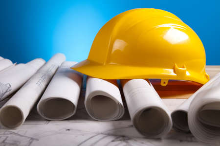 Building plans photo