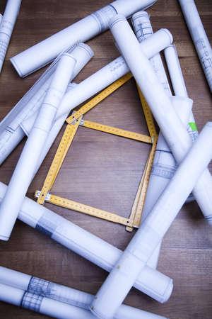 wooden metre: Constructing Plans