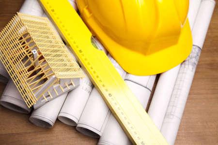 wooden metre: Building plans