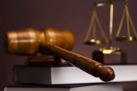 judge hammer: Judges wooden gavel