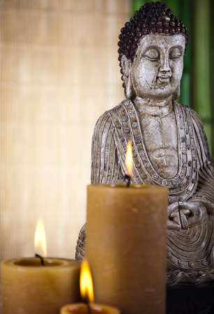 Buddha in Conceptual zen photo