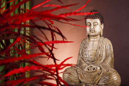 Zen buddha statue Stock Photo - 12139693