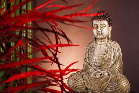 Zen buddha statue Stock Photo - 12139693