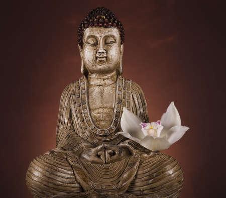 buda: Estatua de Buda Foto de archivo