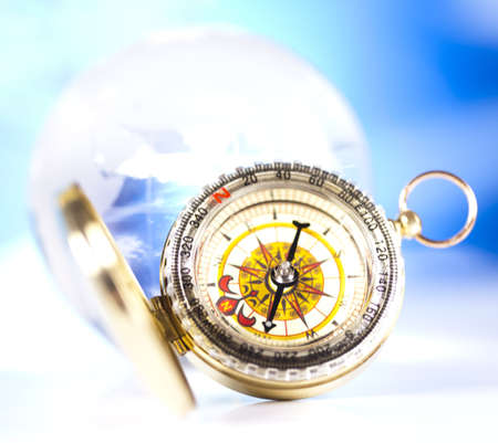 Navigation earth, Compass photo