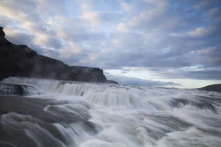 chasm:   Waterfall