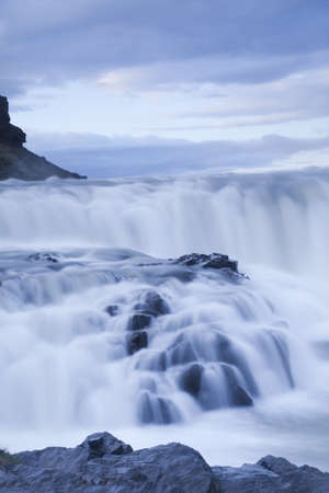 Gullfoss, Iceland waterfall photo