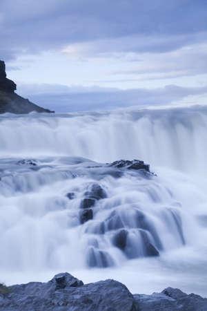 Gullfoss, Iceland waterfall Stock Photo - 12138672