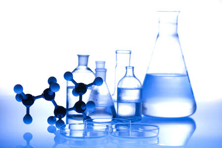 Laboratory glass Stock Photo - 12140586
