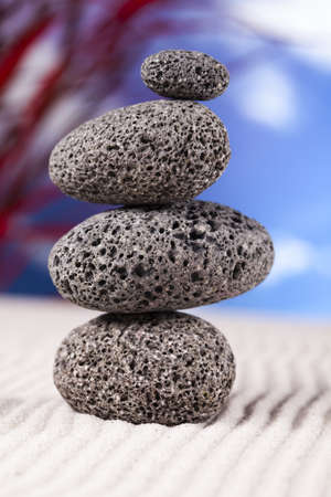 Balanced zen stones  photo