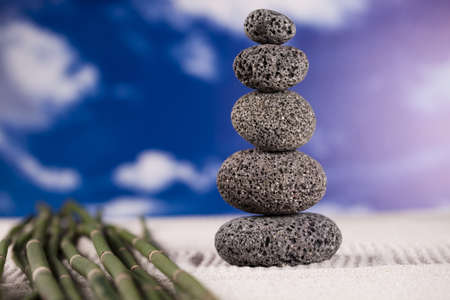 Balanced zen stones  Stock Photo - 12141126