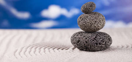 Group of stones, zen Stock Photo - 12140689