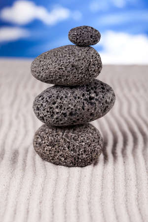 Still life, stone and zen photo