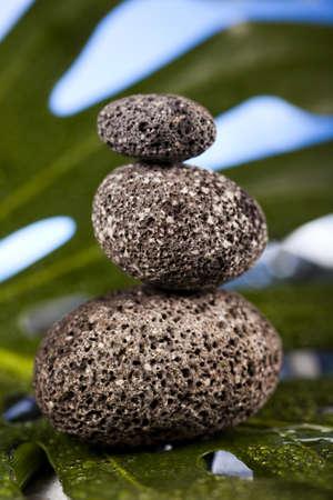 Still life, stone and zen Stock Photo - 12141210