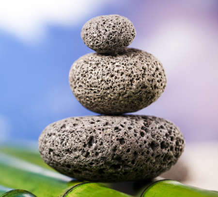Still life, stone and zen Stock Photo - 12140858