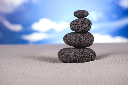 Still life, stone and zen Stock Photo - 12140961