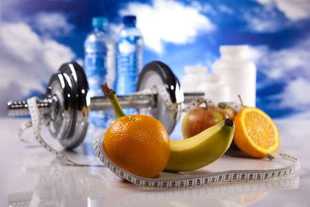 Fitness diet Stock Photo - 12140807