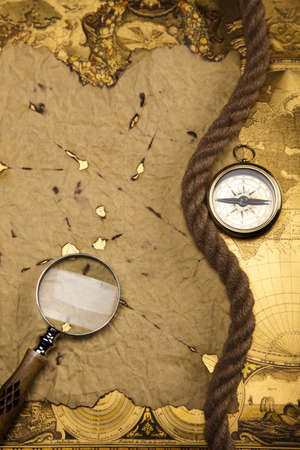 Travelling, Compass Stock Photo - 13503188