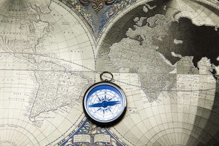 Travelling, Compass   photo