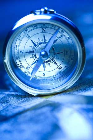nautical compass: Compass