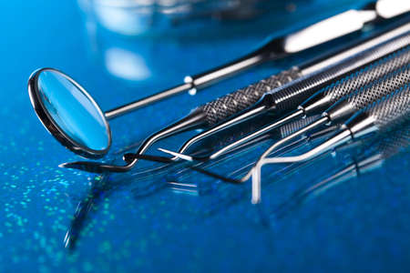 dental tools: Dental tools Stock Photo