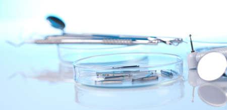Close-up tandheelkundige instrumenten