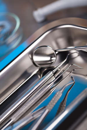 Close-up Dental Instruments photo